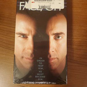 New! still sealed!  Face Off VHS